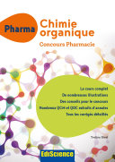 PACES Chimie organique   Concours Pharmacie