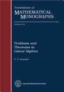 download ebook problems and theorems in linear algebra pdf epub