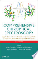 Comprehensive Chiroptical Spectroscopy, Applications in Stereochemical Analysis of Synthetic Compounds, Natural Products, and Biomolecules