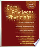 Core Privileges For Physicians