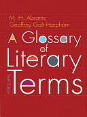 download ebook a glossary of literary terms pdf epub