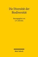 Die Diversität der Biodiversität