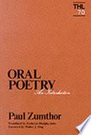 illustration du livre Introduction À la Poésie Orale