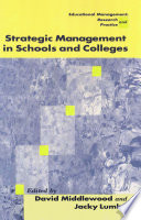 Strategic Management in Schools and Colleges