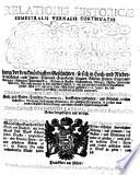 Relationis Historicae Semestralis Vernalis Continuatio, Jacobi Franci historische Beschreibung der denckwürdigsten Geschichten, so sich in Hoch und Nieder Teutschland ... etc. vor und zwischen verflossener Franckfurter Herbst-Meß 1717 biß an die Oster-Meß dieses lauffenden 1718 Jahrs ... zugetragen (etc.)