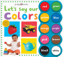 Simple First Words Let s Say Our Colors