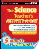The Science Teacher s Activity A Day  Grades 5 10
