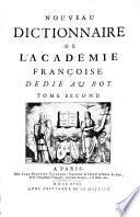 Nouveau Dictionnaire De L Academie Fran  oise