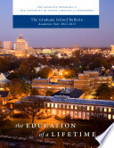 2012 2013 UNCG Graduate School Bulletin