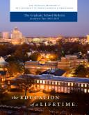 2012-2013 UNCG Graduate School Bulletin