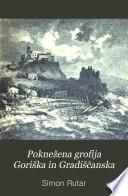 Poknežena grofija Goriška in Gradiščanska: Zgodovinski opis