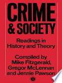 Crime And Society book
