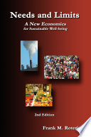 Needs and Limits  A New Economics for Sustainable Well Being 2nd Edition