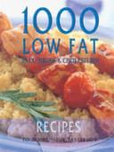 1000 Low Fat  Salt  Sugar  Cholesterol