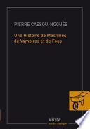 illustration du livre Une histoire de machines, de vampires et de fous