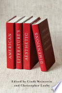 American Literature s Aesthetic Dimensions