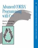 Advanced Corba Programming With C  book