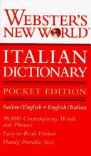 Webster s New World Italian Dictionary