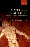 download ebook myths and tragedies in their ancient greek contexts pdf epub