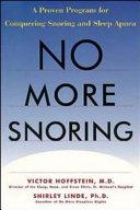 No More Snoring
