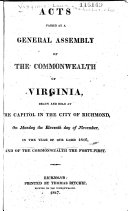download ebook acts passed at a general assembly of the commonwealth of virginia pdf epub