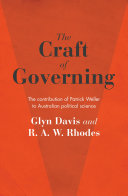 The Craft of Governing