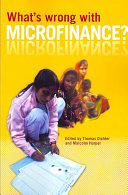 What s Wrong with Microfinance