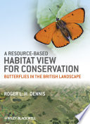 A Resource Based Habitat View for Conservation