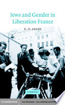 Jews and Gender in Liberation France
