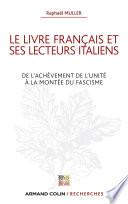 Le livre français et ses lecteurs italiens