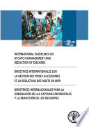 illustration International Guidelines on Bycatch Management and Reduction of Discards