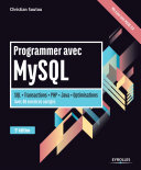 Programmer Avec Mysql Sql Transactions Php Java Optimisations Avec 40 Exercices Corrig S