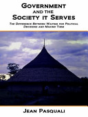 Government And The Society It Serves