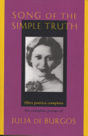 Song Of The Simple Truth : and work of burgos and as...