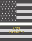 2019 Planner Thin White Line 2019 Daily Planner