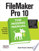 FileMaker Pro 10  The Missing Manual