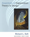 essentials of organization theory and design