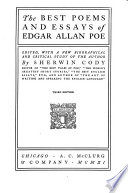 The Best Poems and Essays of Edgar Allan Poe