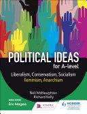Political ideas for A Level: Liberalism, Conservatism, Socialism, Feminism, Anarchism