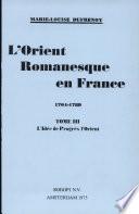 L Orient romanesque en France