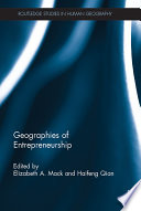 Geographies of Entrepreneurship
