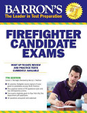 Barron s Firefighter Candidate Exams