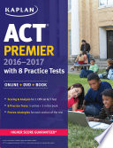 ACT Premier 2016 2017 with 8 Practice Tests