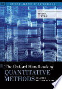 The Oxford Handbook of Quantitative Methods  Vol  2  Statistical Analysis