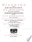 Histoire des révolutions de Hongrie, où l'on donne une idée juste de son legitime gouvernement