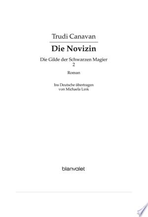 Die Gilde der Schwarzen Magier - Die Novizin - ISBN:9783641023225
