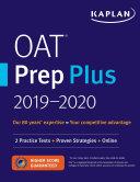 OAT Prep Plus 2018 2019