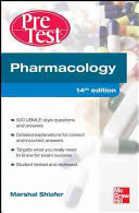 Pharmacology PreTest Self Assessment and Review 14 E