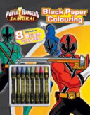 Power Rangers Black Paper Colouring