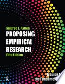 Proposing Empirical Research